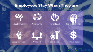 Leading inclusively for employee retention
