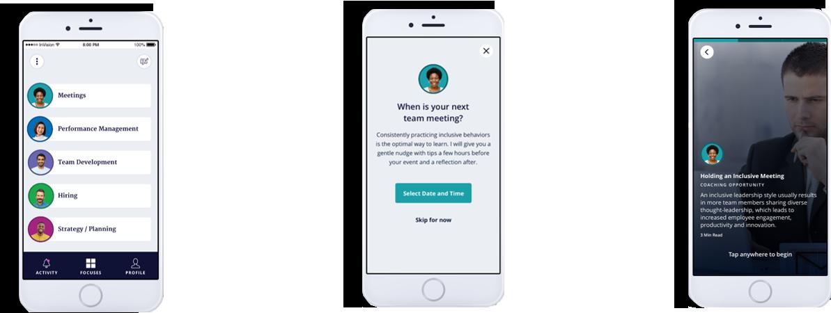 Inclusion Virtual Coach App